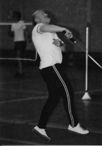 Joop Testroote, clubicoon en een van de oprichters van BC Olympia '56